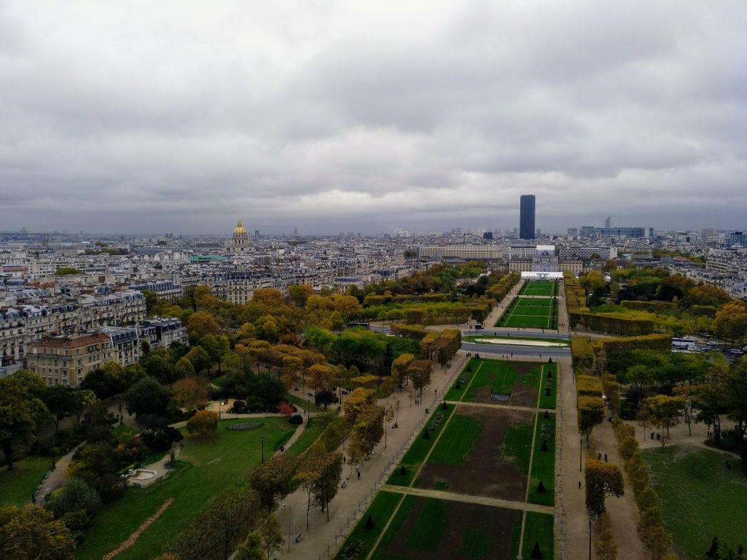 Blick-vom-Eiffelturm